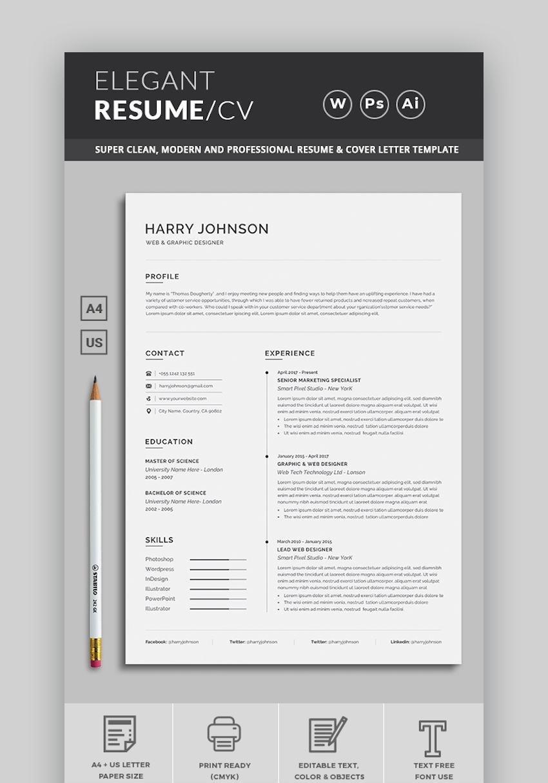 Elegant ResumeCV Design