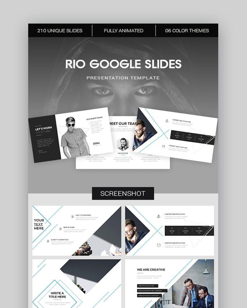 Rio Google Slides Template