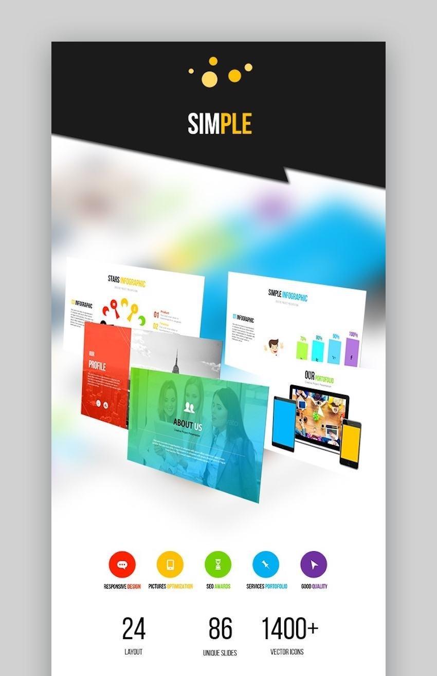 SIMPLE - Google Slides Business Presentation