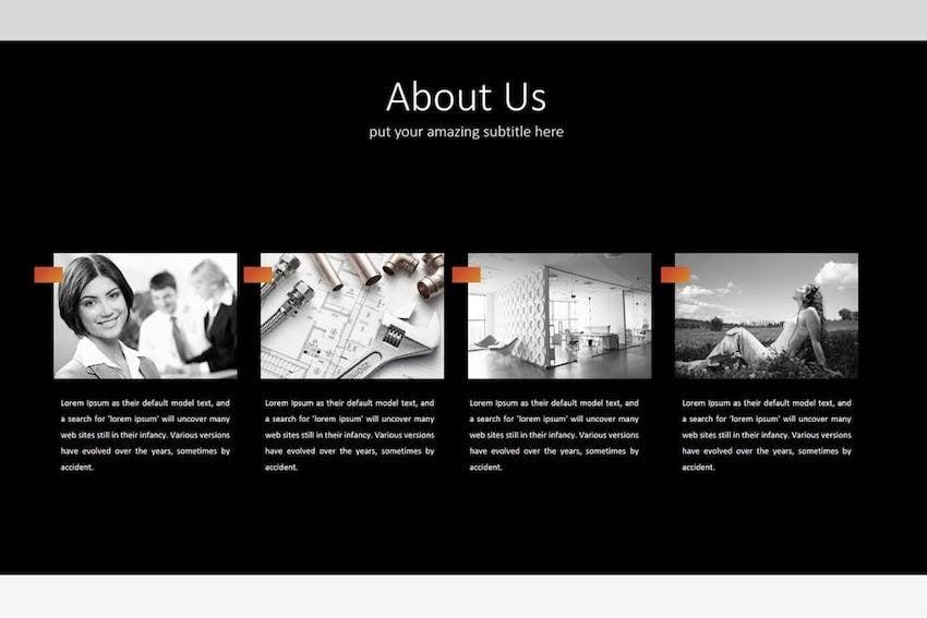 Simple Google Slides theme