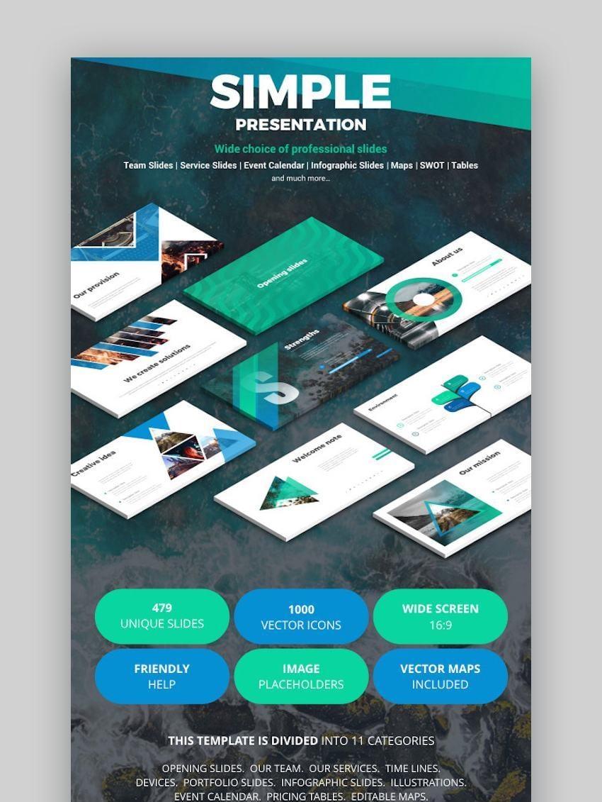Simple Presentation Google Slides Theme