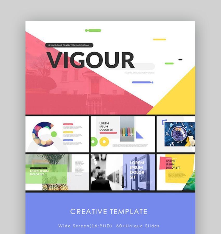 Vigour - Simple Google Slides Template