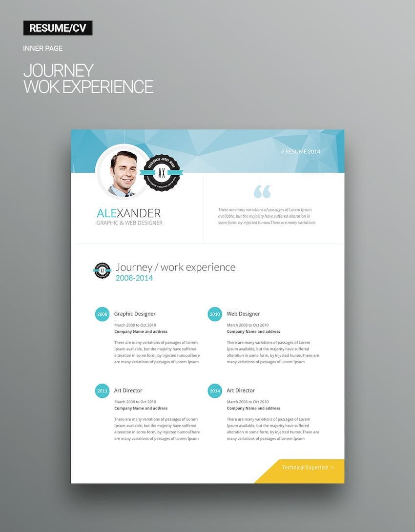 ResumeCV Creative Templates