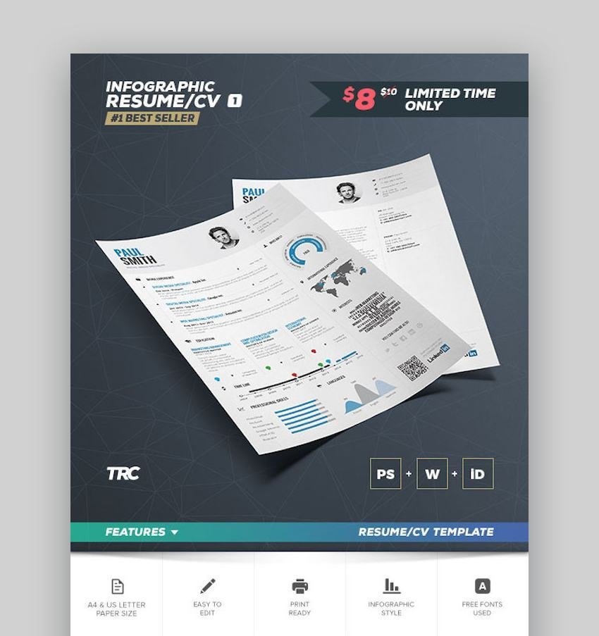 Infographic Resume Vol1 - Template
