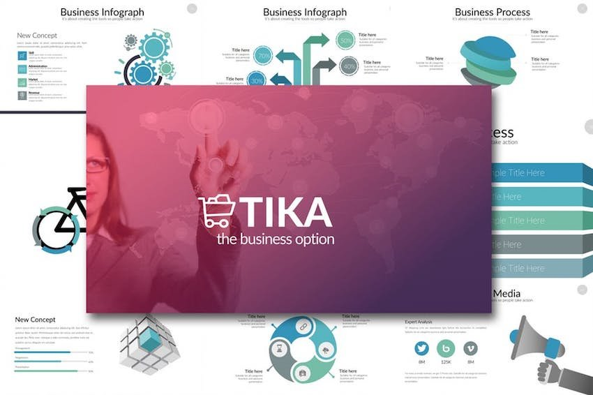 TIKA template with Google Slides icons