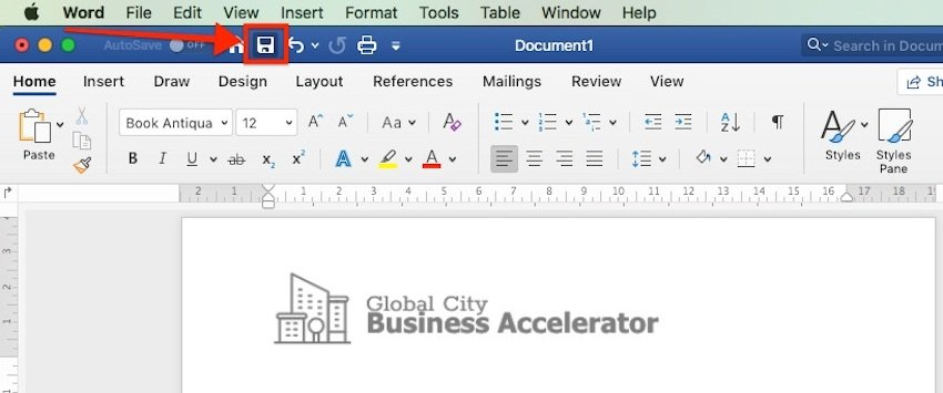 How Do You Save a File in Microsoft Word