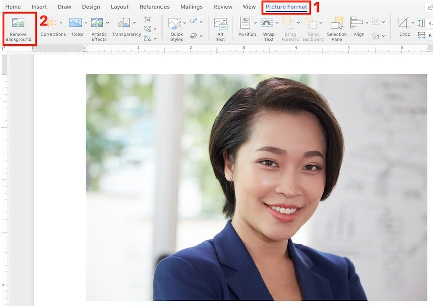 How to Remove Image Background in Word
