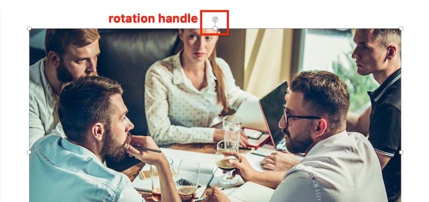 Rotate Image in Microsoft Word
