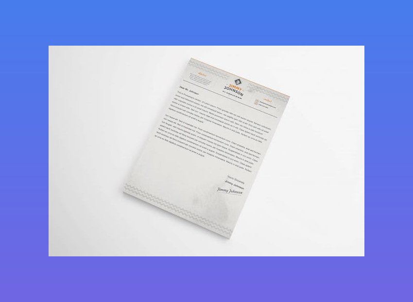 Cover letter template word doc - Corporate Resume Cover Letter Template