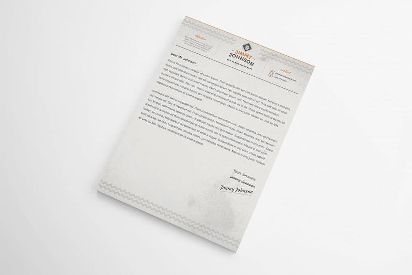 Cover Letter Template Word Doc - Corporate