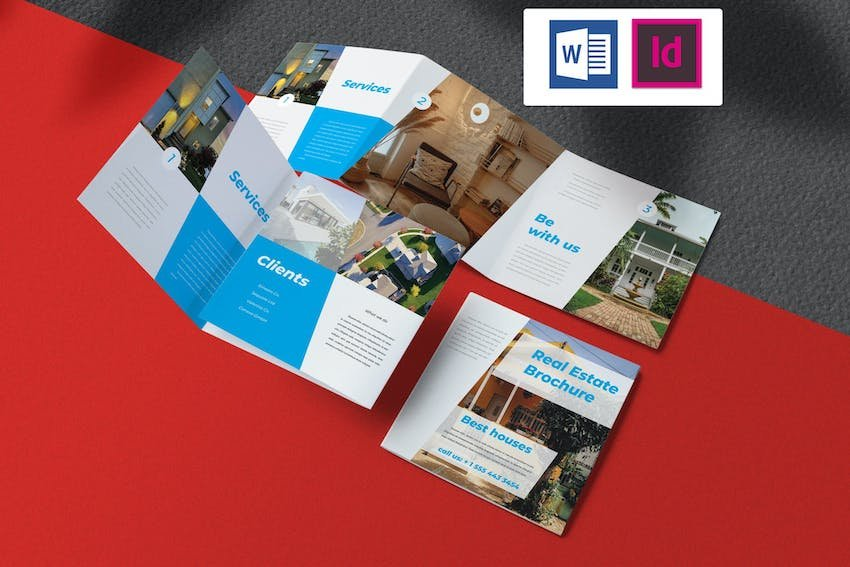 Real Estate Brochure for Microsoft Word