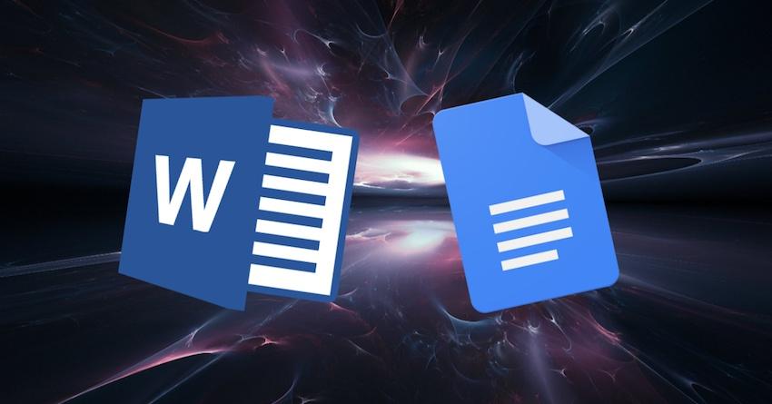 Google Docs vs Microsoft Word