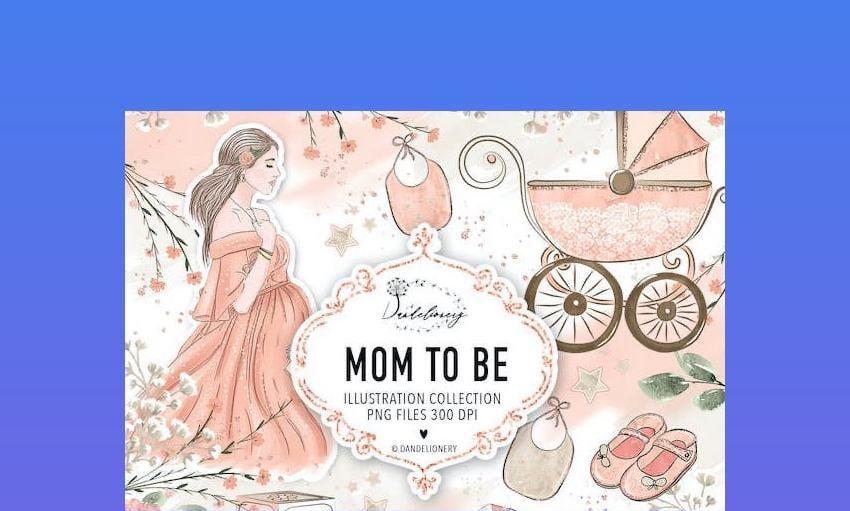 Maternity Clip Art for Microsoft Word