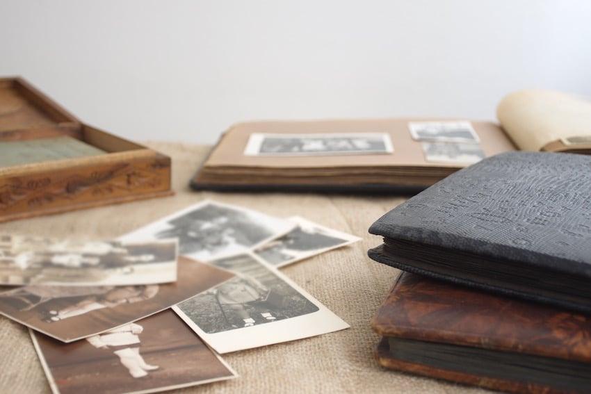 family tree powerpoint - photographs