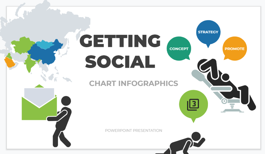 how to create infographics - Google Slides