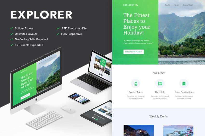 newsletter templates - Explorer on Envato Elements