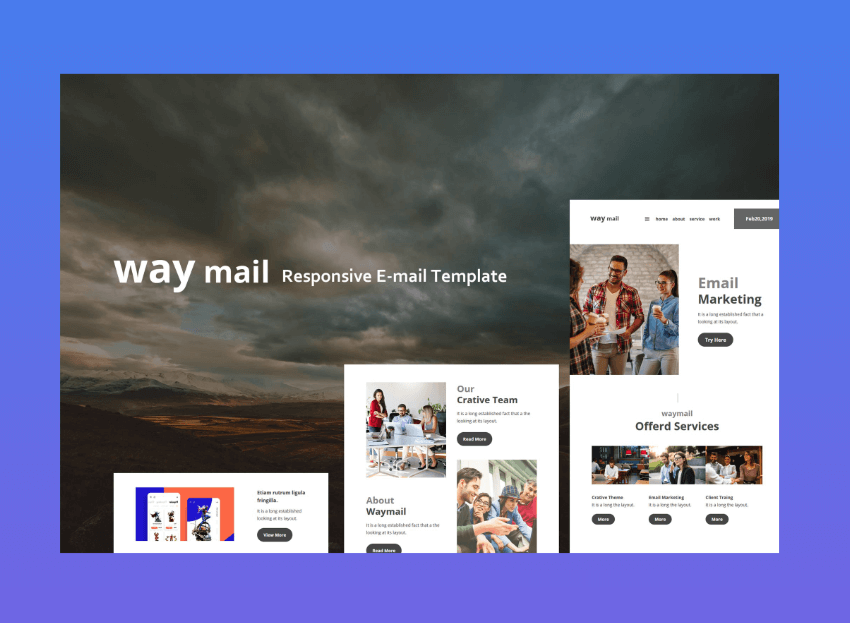 get  custom mailchimp templates free with Envato Elements