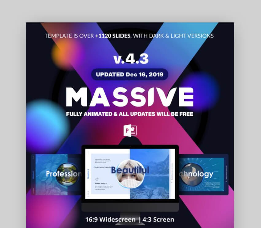 massive-x powerpoint template download
