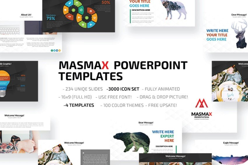 masmax powerpoint template downloads