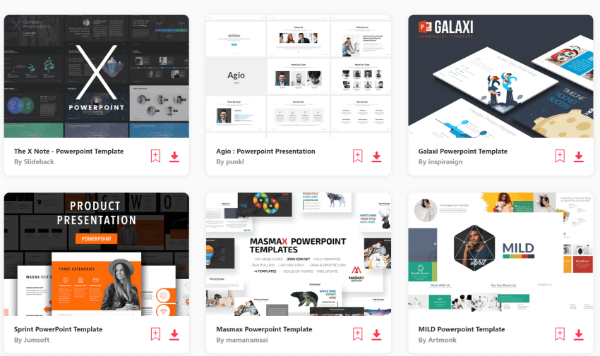 presentation preparation - choose from the well-designed premium PowerPoint templates on Envato Elements