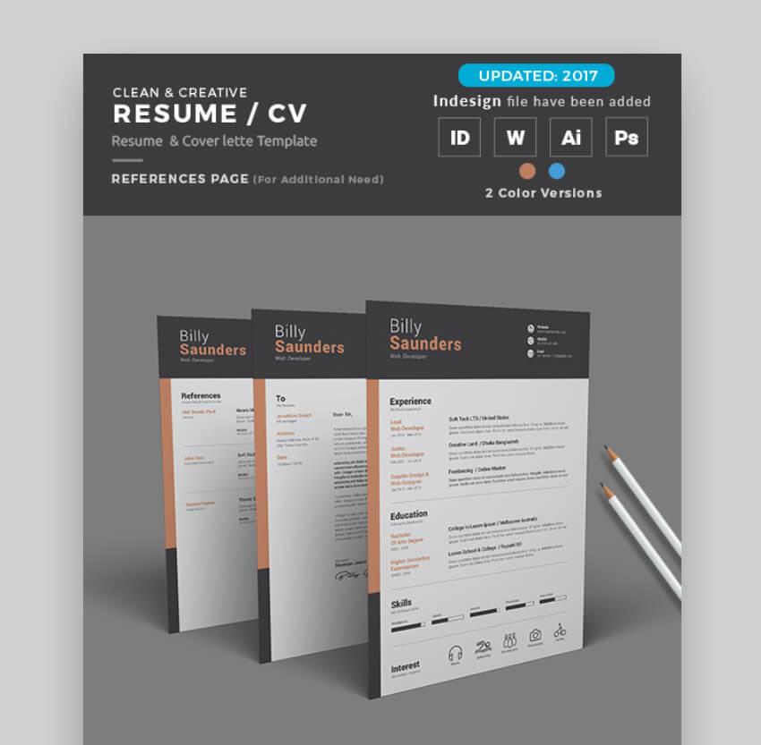 attractive resume templates