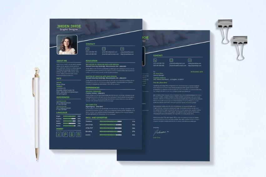 Modern Resume Templates on Envato Elements