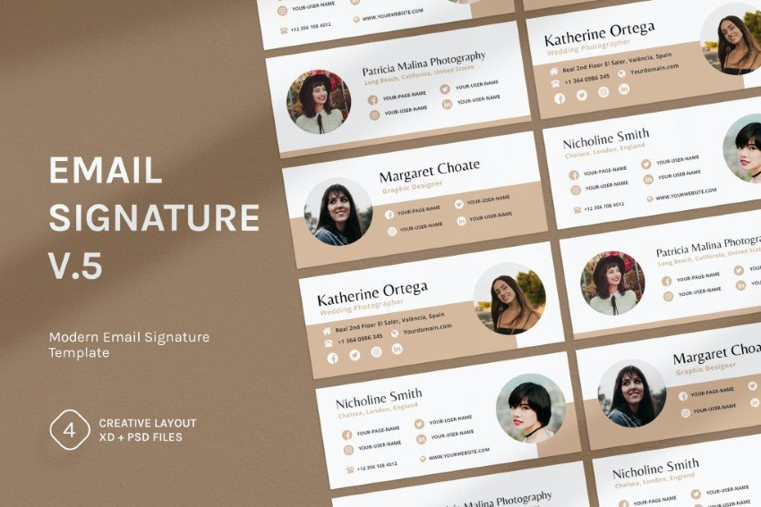 how to make a great email signature - tip 3