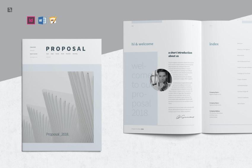 Microsoft Word Proposal Templates