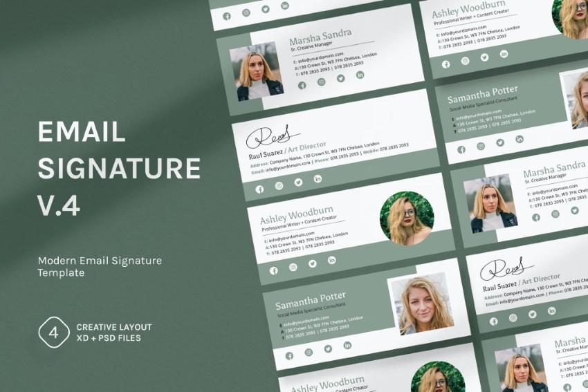 Email Signature v4