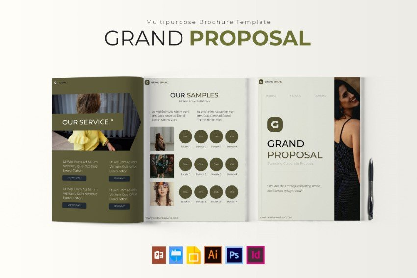 business proposal design inspiration