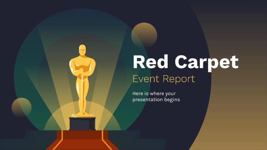 movie theme presentation