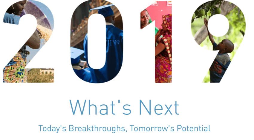 Gates Foundation Year in Review