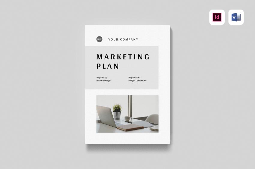 marketing plan template word,