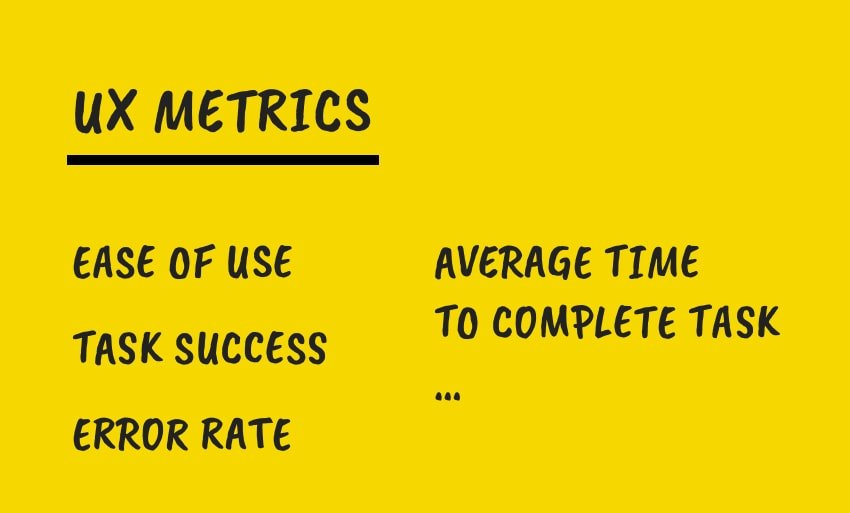 Measure UX Using Metrics and KPIs