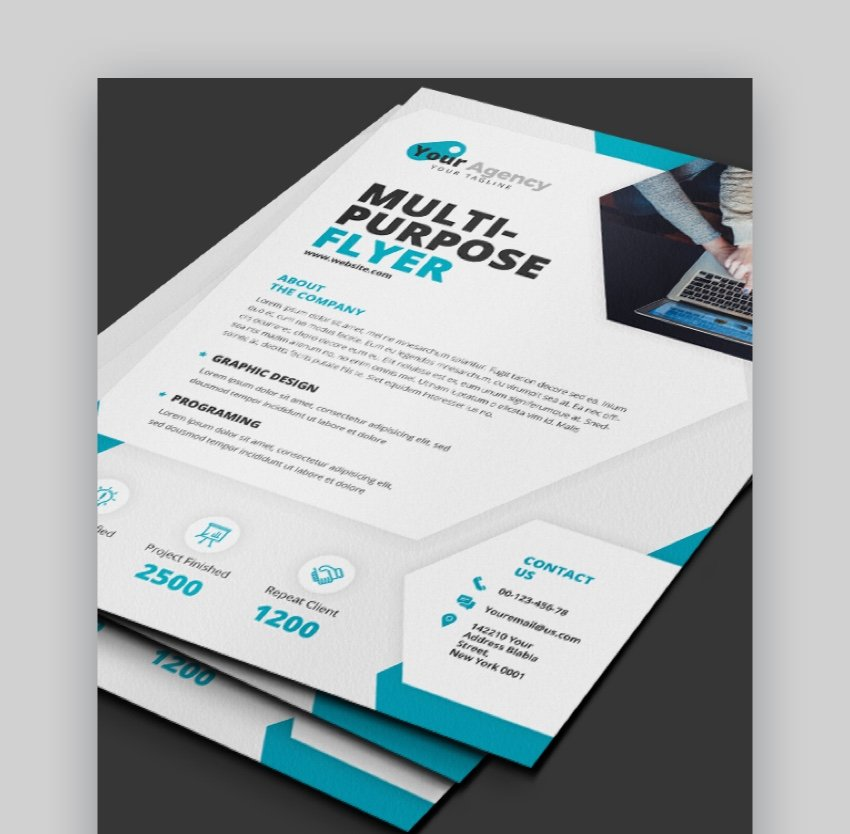 Designing a Business Flyer
