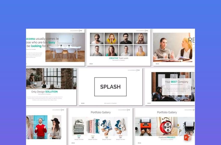 Splash PowerPoint on Elements