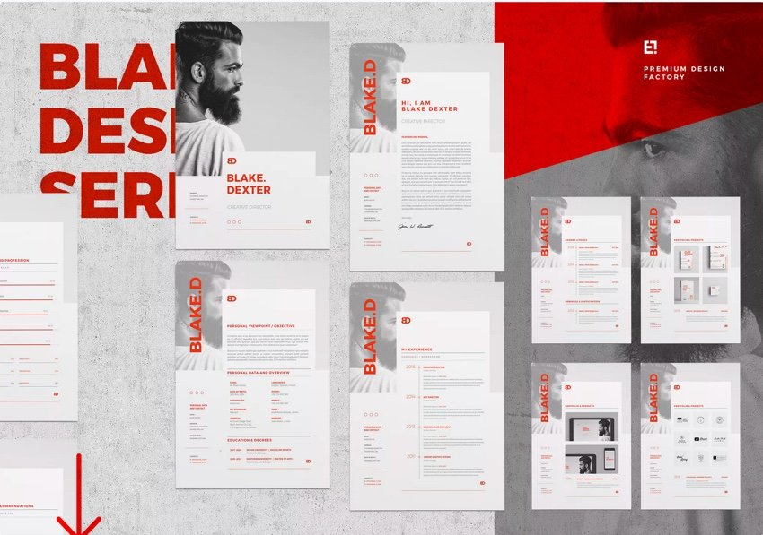 Cater Your InDesign Resume