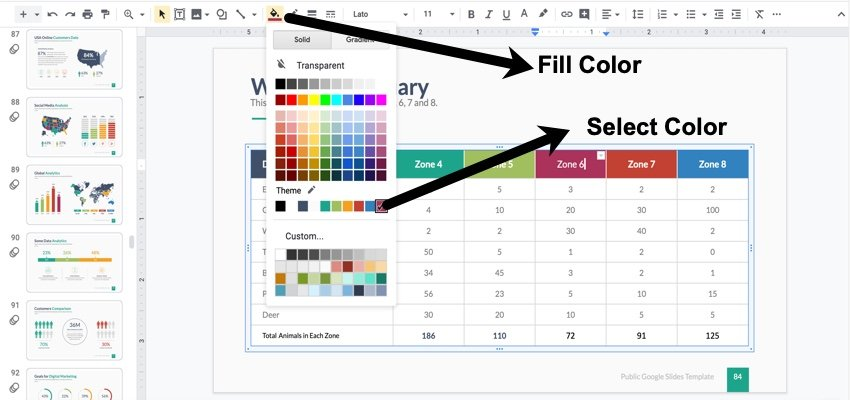 How to Change the Color