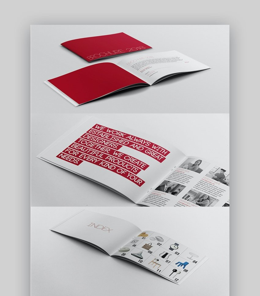 A5 Brochure InDesign Template