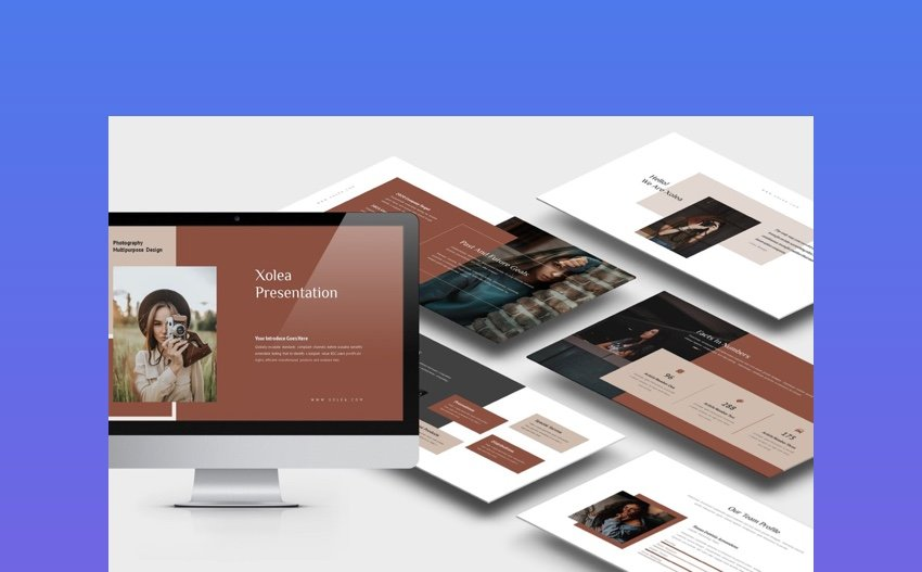 xolea - Photography Business Profile PowerPoint