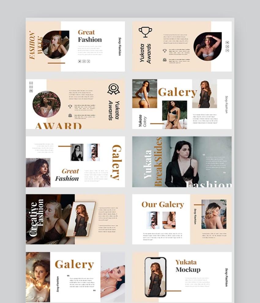 Yukata Fashion Powerpoint