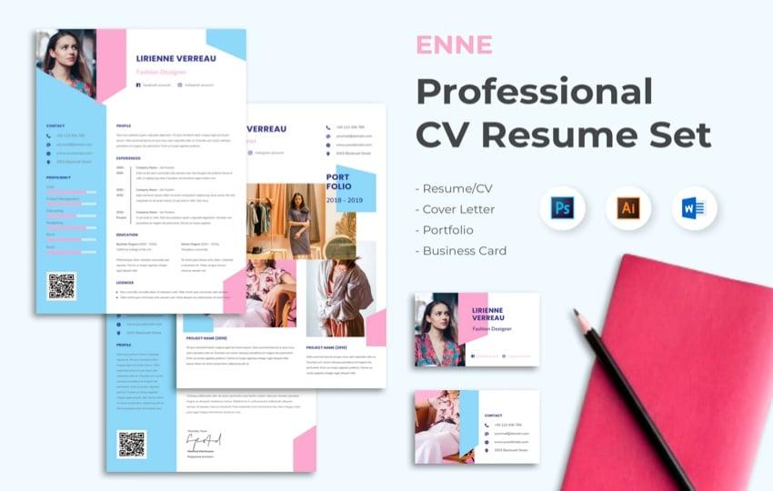 Enne CV Resume