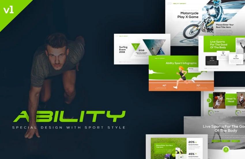 Agility Sports Template