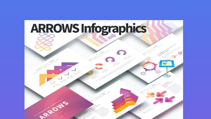 Arrows Infographic Template
