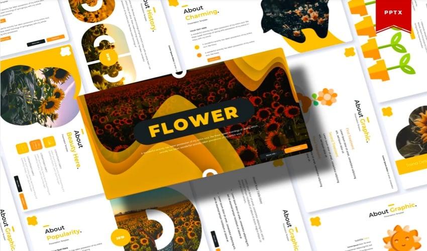 powerpoint templates flowers - Flower