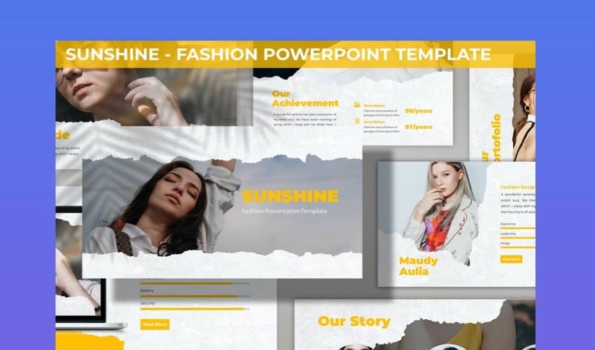 Sunshine PowerPoint Template