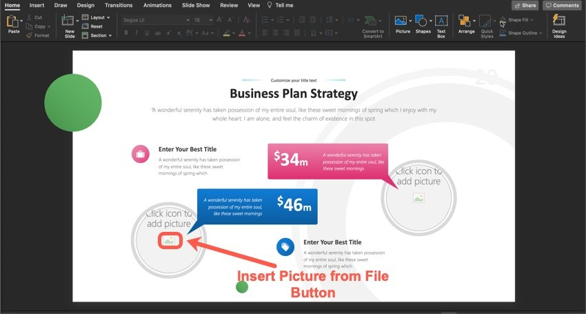 How to Add an Image to Your Slide Placeholder