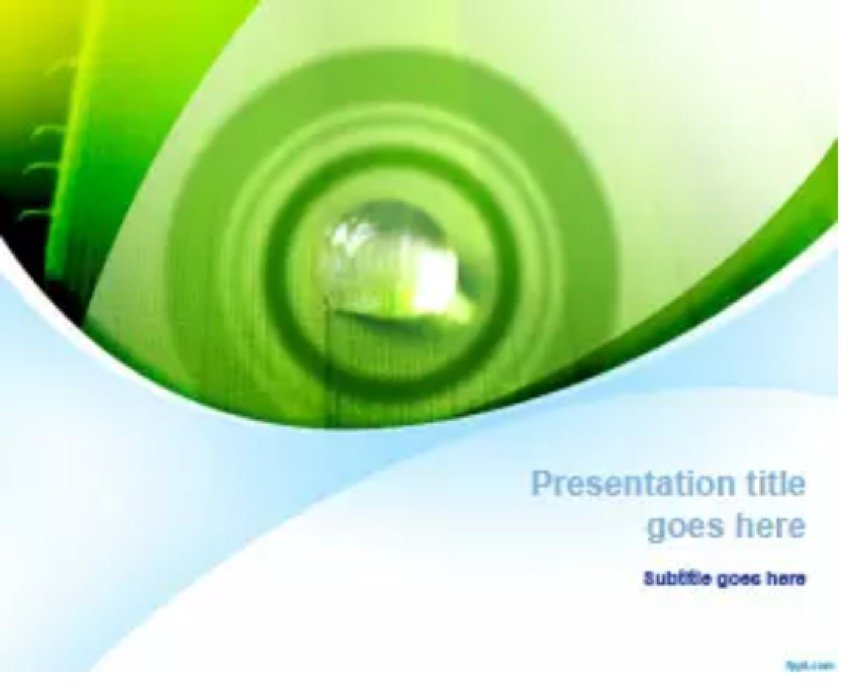 Green Nature PowerPoint Template