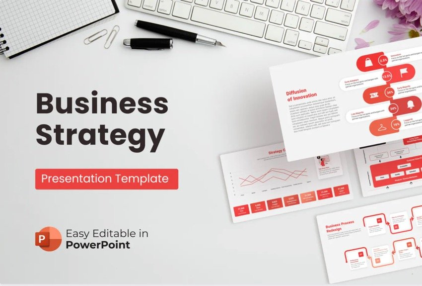 Infographics and graphs PowerPoint template