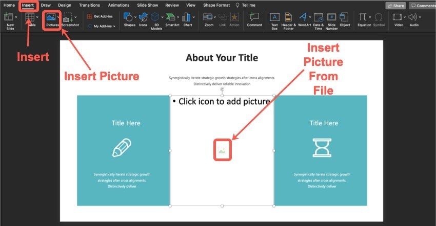 How to add an image.
